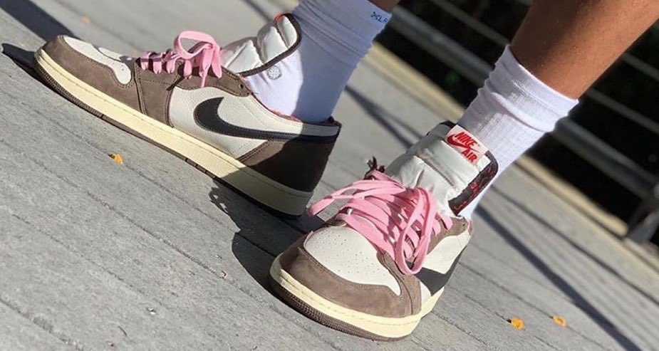 light pink laces