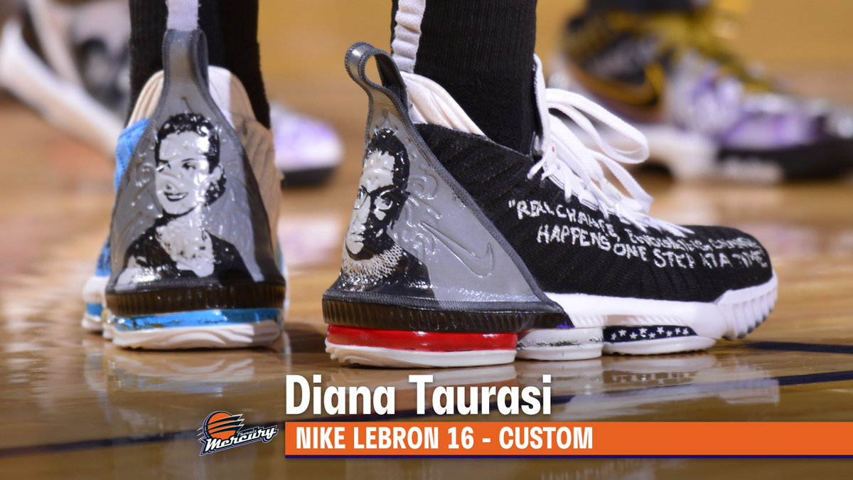 Lei, Yvonne and DT coming in HOT with their custom #WNBAKicks
