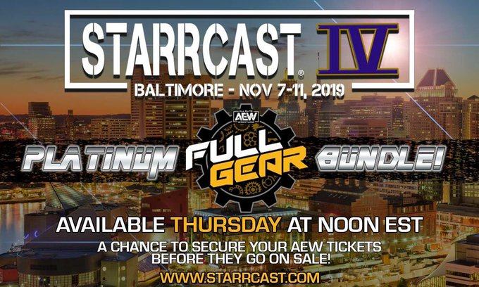 Starrcast IV Announced For AEW Full Gear PPV Weekend, Cody Rhodes Comments