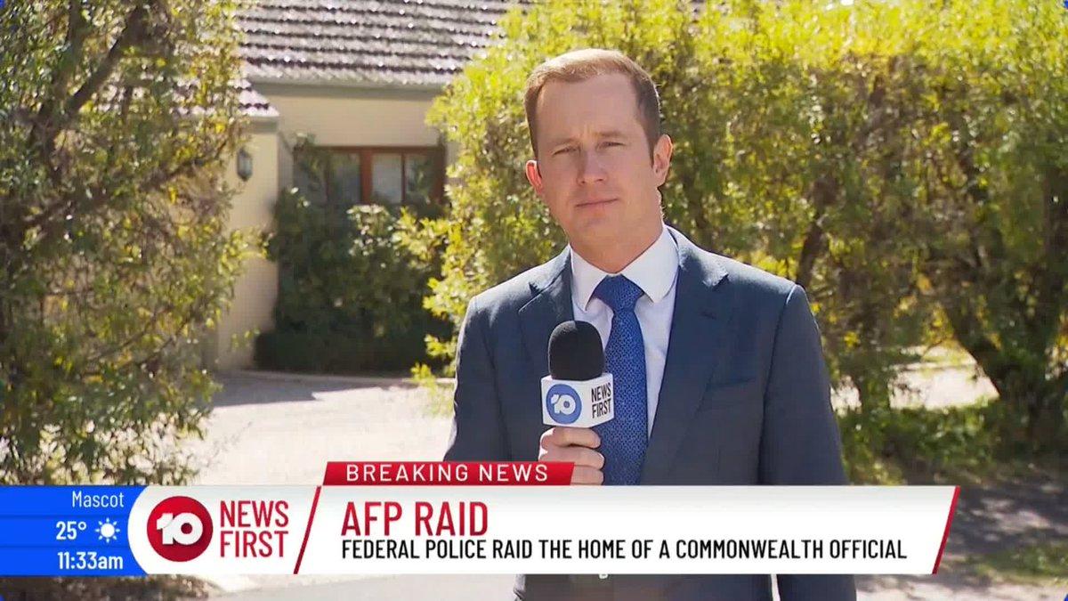 Australian federal police raid Canberra home of intelligence