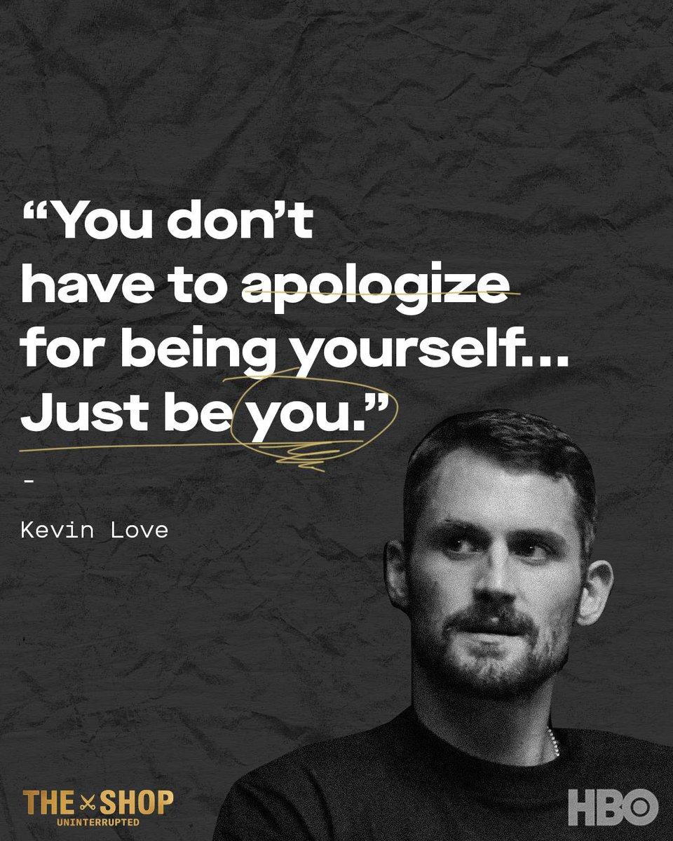 Tell em K. Love! 🙌🏽 @kevinlove #TheShopHBO