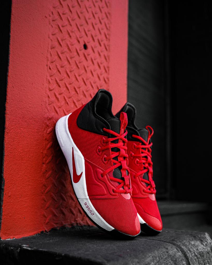 PGs. #Nike PG3 'University Red