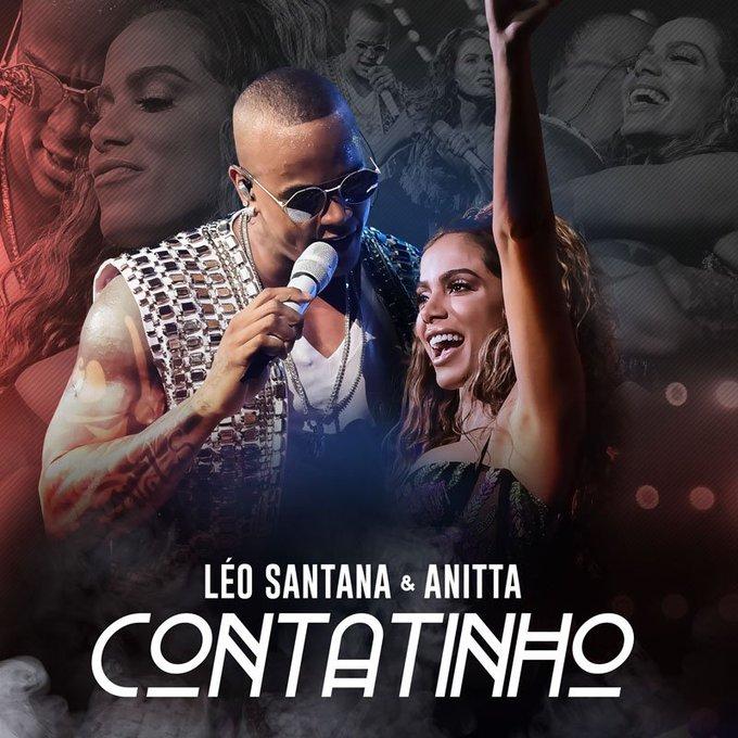 """""""Contatinho"""": parceria entre Léo Santana e Anitta ganha capa e data de lançamento"""