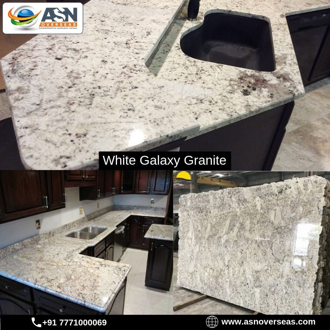 Asn Overseas On Twitter White Galaxy Granite Is The Best Category Granite For Countertop And Kitchen Top Our Expert Team Offers The Best White Galaxy Granite Price In All Our World Check