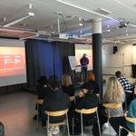 Image for the Tweet beginning: Smart Design orientation day, workshops