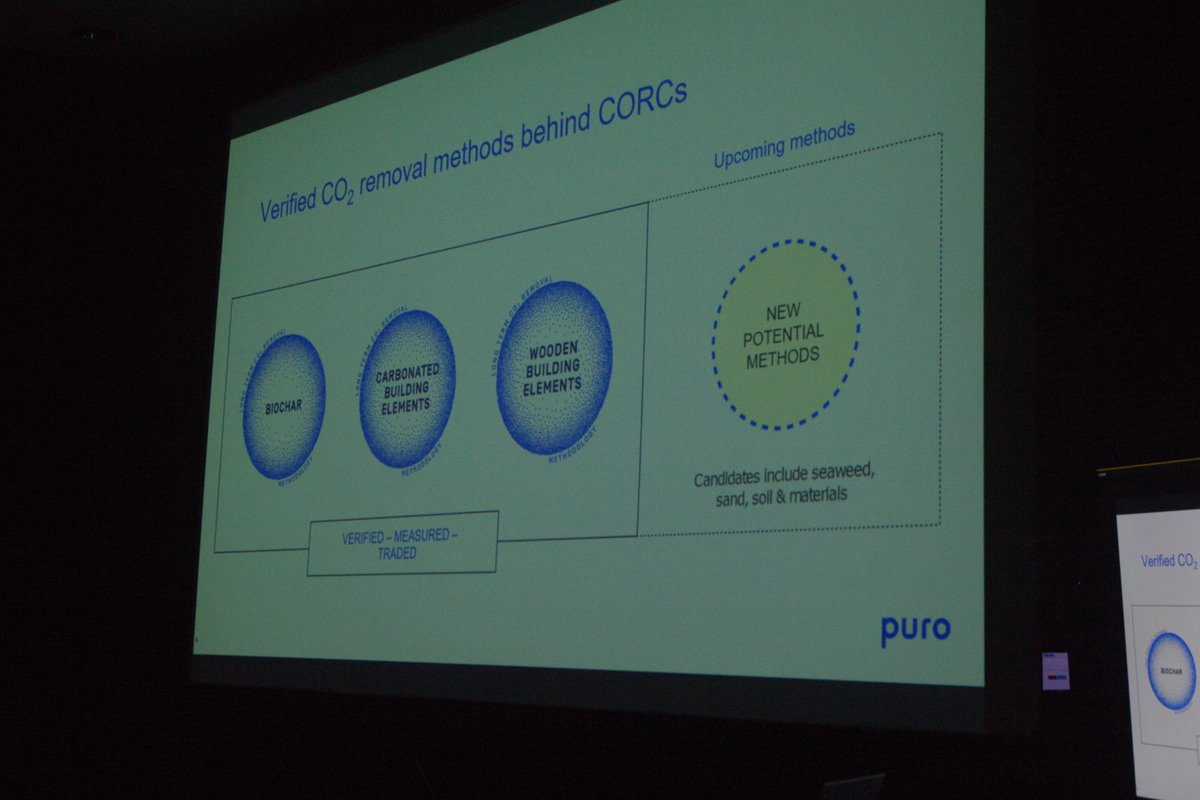 Puro is the world's first CO2 removal marketplace @Fortum_Oyj #biochartour