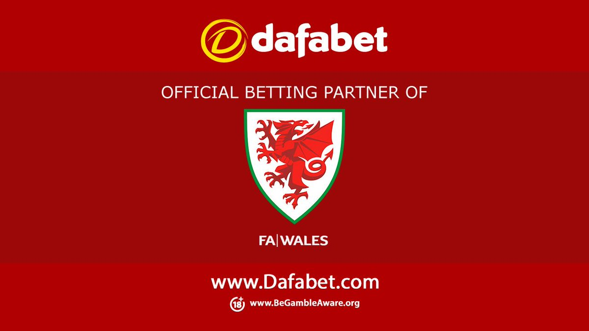 🏴COMPETITION 🏴 For the chance to #win a pair of tickets to @Cymru v #Azerbaijan match on Friday ✅Follow @Dafabet 🔁Retweet this post. Closes: 4/09/19 at midnight Winners: 5/09/19 5️⃣Pairs of tickets up for grabs 🔞+Only #TogetherStronger #WALAZE #TheRedWall #Wales