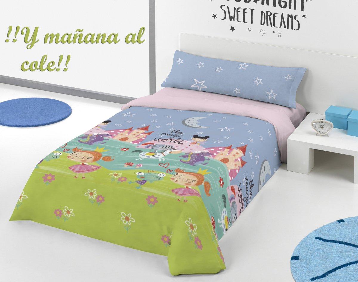 Este mes los protagonistas son los niños. Porque? Por la vuelta al cole así que... ¡Vamos a ver si les sacamos una sonrisa! ☺️Que os parece si les dejamos elegir como decorar sus camas...? . . #DORAEMON #AlCole #Sábanas #Colchas #Plaid #BuenosDias #Niños
