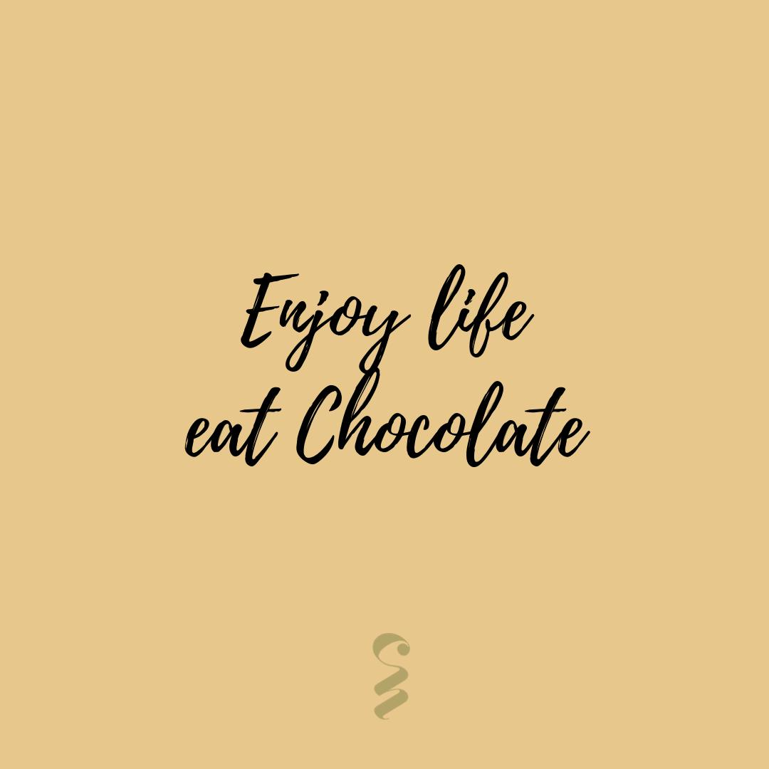 Chocolate Nation On Twitter Enjoy Life Eat Chocolate