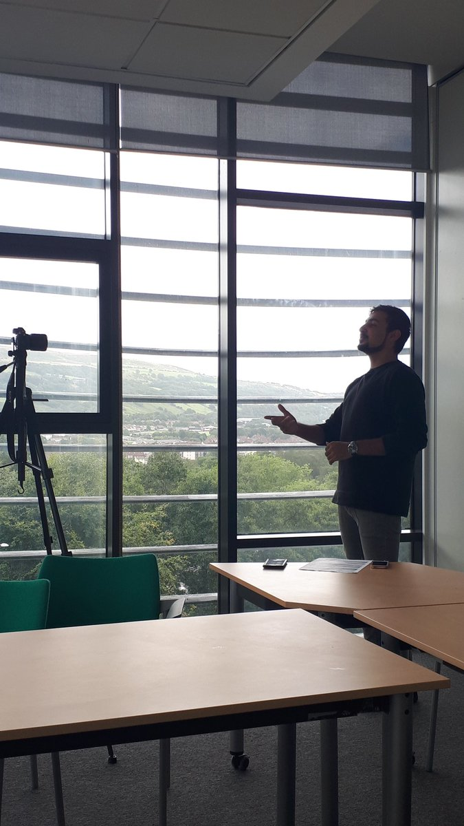 We are filming our annual Course Rep video with @USWSUOfficers!