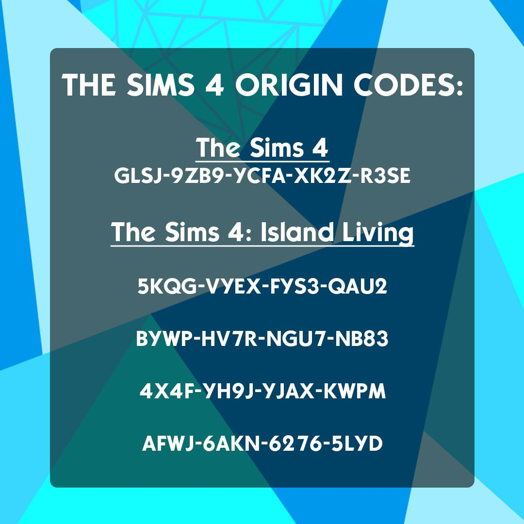 sims 4 expansion pack codes free