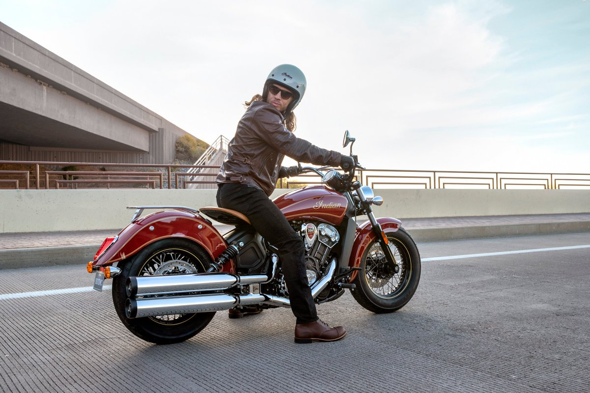 Press Release: Indian Motorcycle honours Scout's 100 year legacy in 2020 with Scout Bobber Twenty & Limited Edition Scout 100th Anniversary models https://t.co/opeS7B63Cm https://t.co/XGES8bLb2r