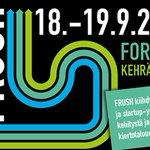 Image for the Tweet beginning: FRUSH – kiertotalouden kasvuyritys- ja