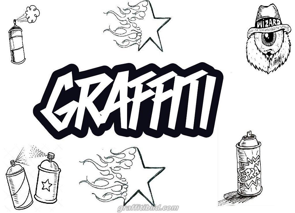 39 coole graffiti bilder zum ausmalen  besten bilder von