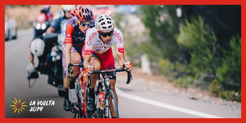 🎁 Jeu concours 🎁 💙 Follow + 🔃 RT pour tenter de remporter une clé de téléchargement du jeu Pro Cycling Manager 🎮🚴♂️ Tirage au sort à l'arrivée de l'étape 🏁 #CofidisMyTeam #LaVuelta19 📸 @SarahMeyss / @lavuelta