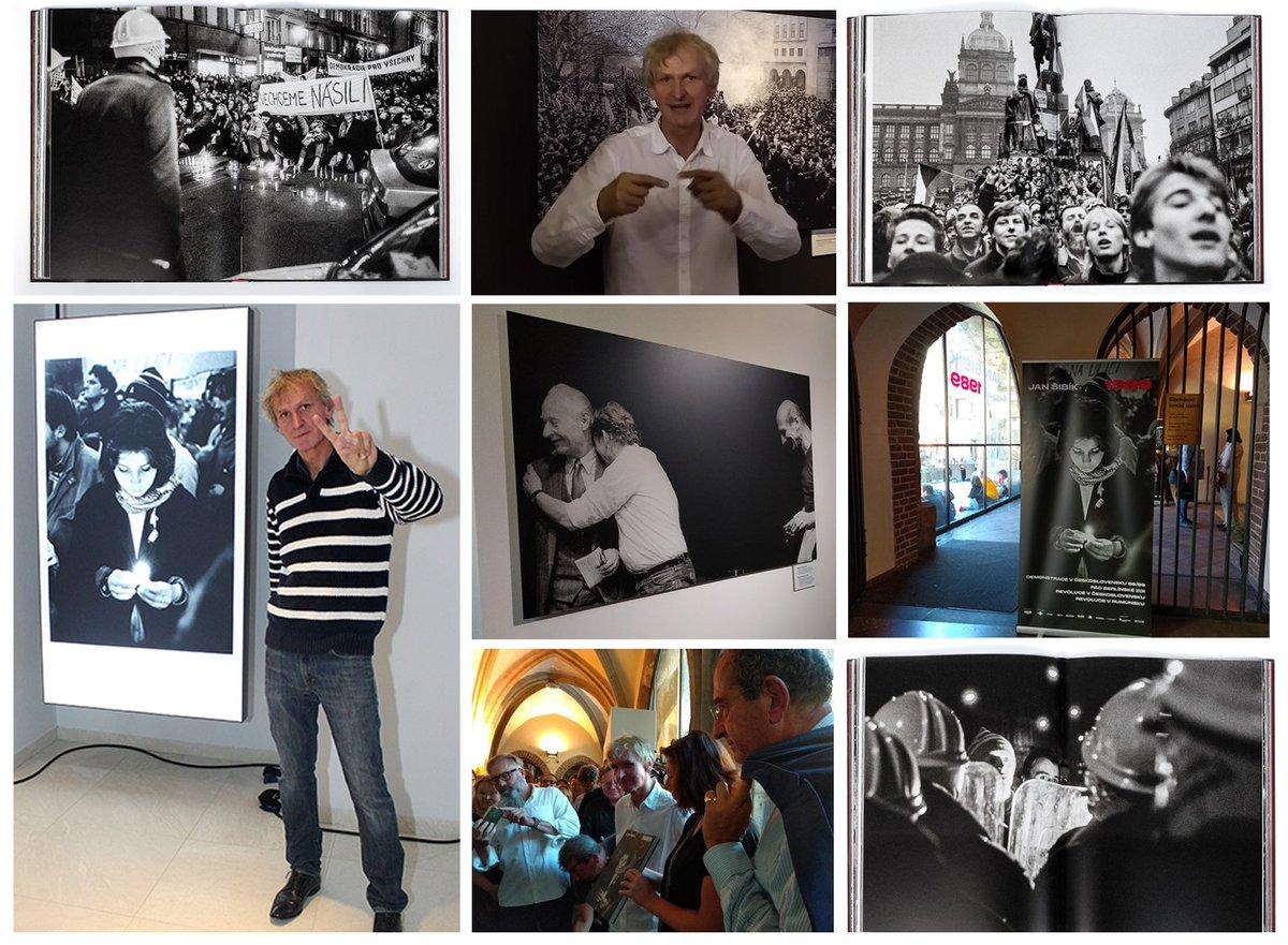 test Twitter Media - Vzpomínáte si na výstavu fotografií @JanSibik v Galerii 17. listopadu? Naše spolupráce pokračuje, @CAK_cz je nyní hrdým partnerem jeho knihy a stejnojmenné výstavy fotografií JAN ŠIBÍK 1989, kterou můžete navštívit na Staroměstské radnici v Praze. https://t.co/U8JBPIqjyB https://t.co/RMzGaUpvAR
