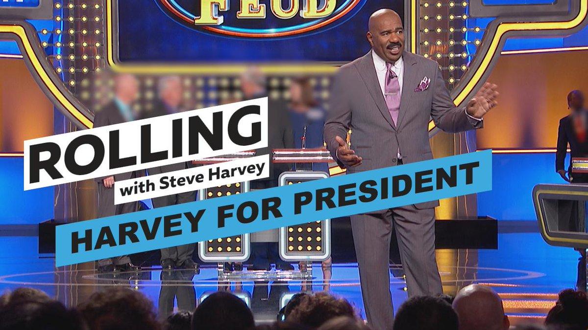 "Image for the Tweet beginning: ""Harvey for President."" I appreciate"
