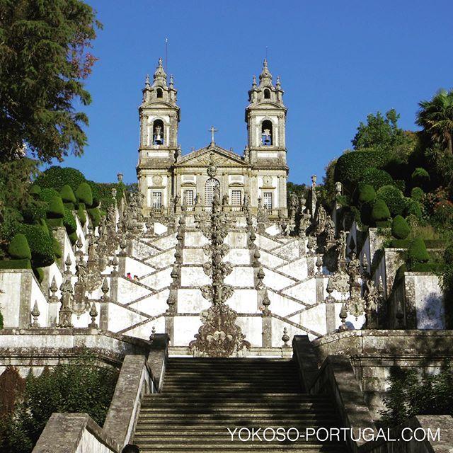 test ツイッターメディア - ポルトガル北部、ブラガの郊外にあるボン・ジェズス教会も、今年ユネスコ世界遺産に選ばれました。 #ポルトガル #ブラガ #世界遺産 https://t.co/xkOOb1TfvN