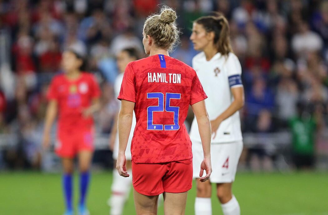 9•3•2019  Thank you to everyone who made this experience unforgettable. The amount of support is overwhelming! Let's do that again 🇺🇸☝🏼@USWNT