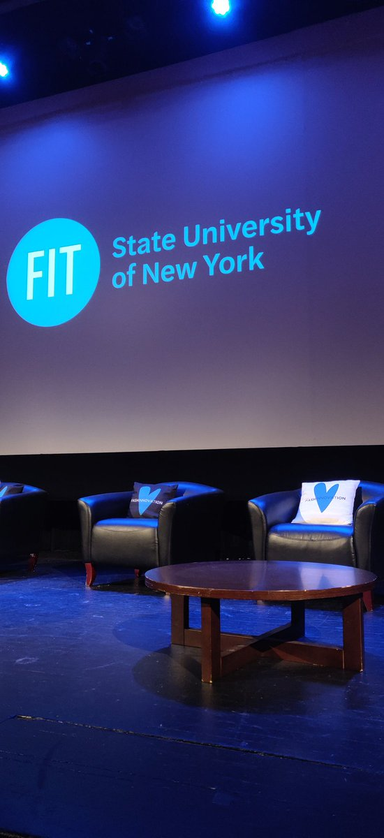 We are here! @Fashinnovation_   Hoping to see you guys soon! Come hear our speakers today at FIT! #FashionIsToLove #FashionIsToLearn #FashionIsToEmpowerpic.twitter.com/HSBs9nWdOh – at Fashion Institute of Technology