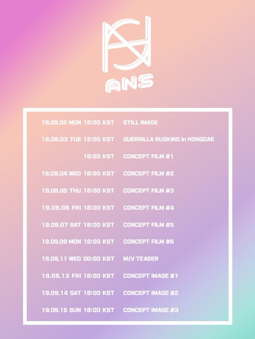 """New 6 member Girlgroup """"ANS"""" reveals individual concept teasers for debut single 'BOOM BOOM' 3"""
