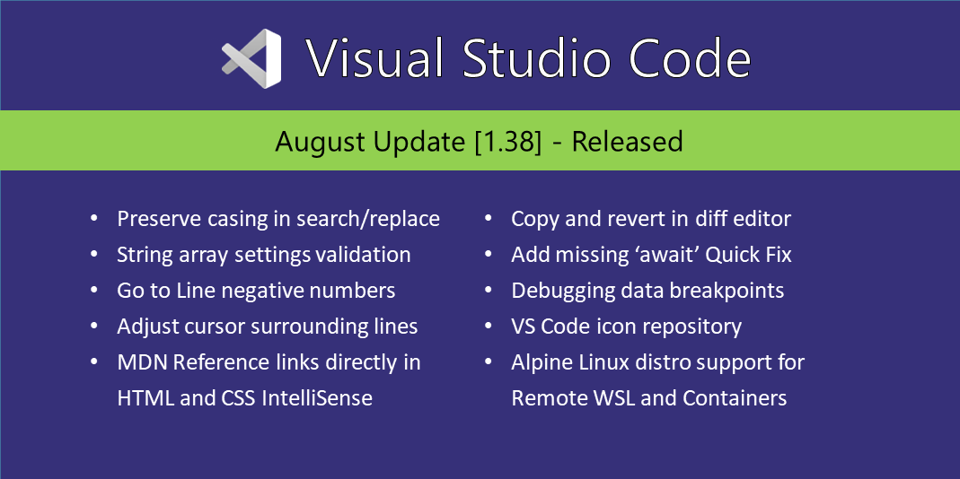 Visual Studio Code (@code)   Twitter