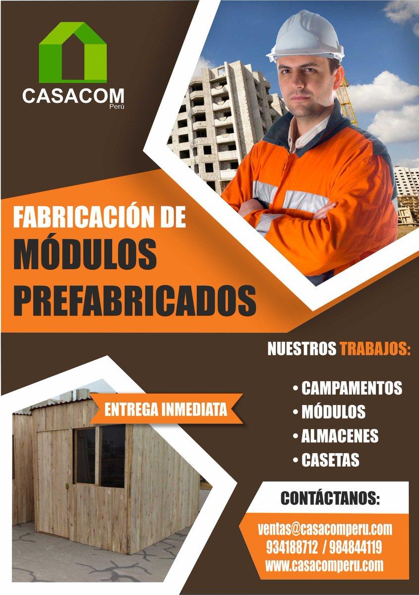 Casacom Peru On Twitter Módulos Casetas Campamentos