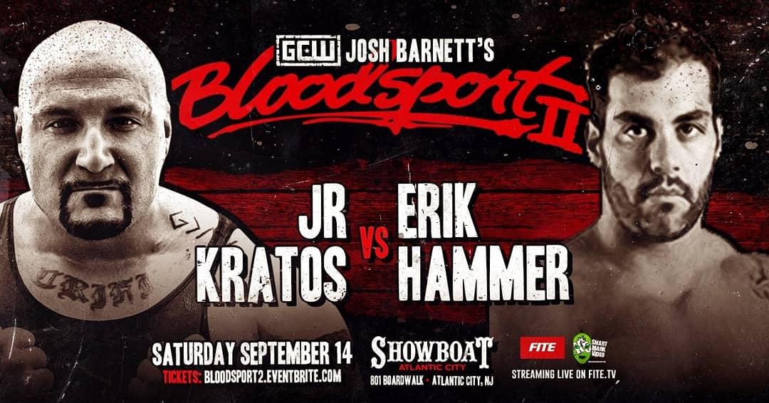 Kratos-Hammer at Bloodsport 2