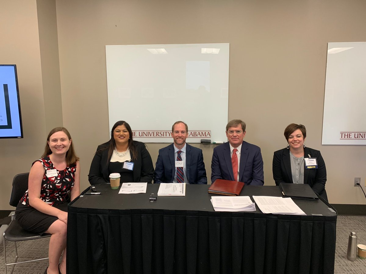 LSA REIP Atty Farah Majid (2nd from Left) participated in a panel discussion about expanding access to justice to rural communities in AL at UA's Blackburn Institute on Aug. 24 in Tuscaloosa. Read more here: https://t.co/P9Vei0eKN7 Way to go Farah! @UALawPISB @UALawSchool https://t.co/lPCy6yK3w5
