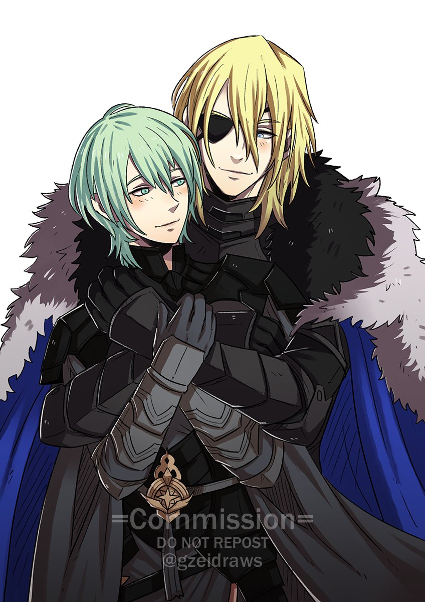 #FE3H Dimitri x Byleth Commission for @MrBrolav   #FE3HSpoilers *Please don't repost unless you're the client* https://t.co/7uTWvesX0q