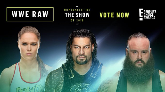 WWE RAW Nominated For People's Choice Award