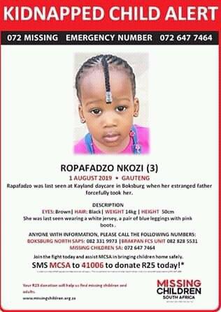 missingchild hashtag on Twitter