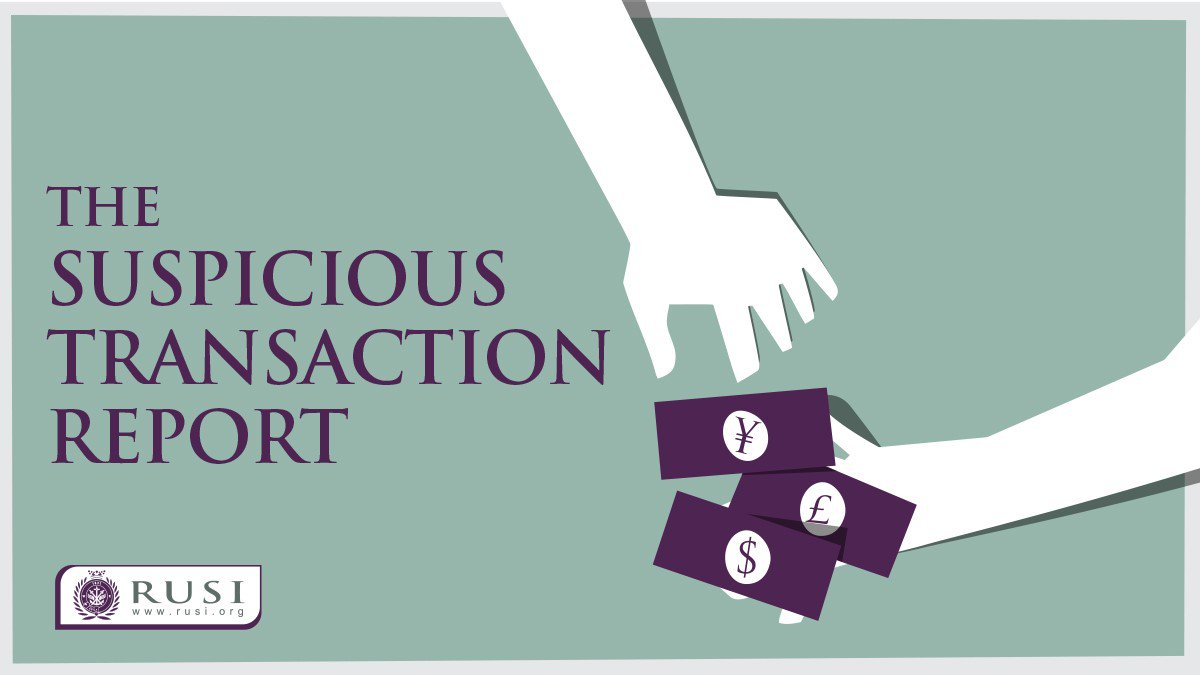 New podcast series 'The Suspicious Transaction Report' is out now! Brought to you by @CFCS_RUSI, join @KeatingeTom, @NickParfittARI and @ChaseFinCrime for the trailer episode of the brand-new financial crime podcast   https://rusi.org/multimedia/trailer-suspicious-transaction-report… #STRpodcast #MoneyLaundering