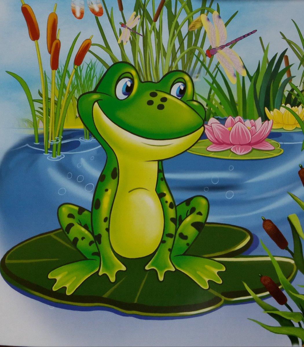 Сказочные картинки лягушек