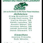 Image for the Tweet beginning: Shen Athletics is pleased to