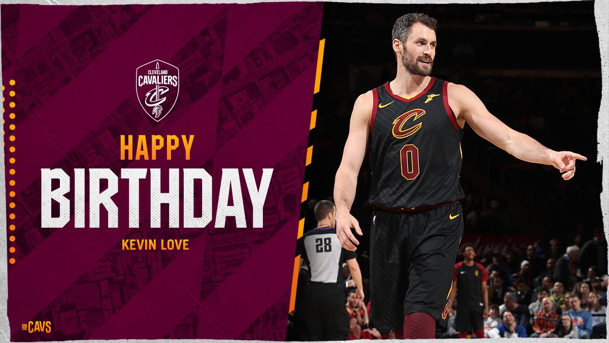 HAPPY BIRTHDAY, @kevinlove!  Retweet to join us in wishing KLove a great year ahead.  🎂 photos: https://t.co/sntlQzBeo1 https://t.co/2yjkuIIDDE