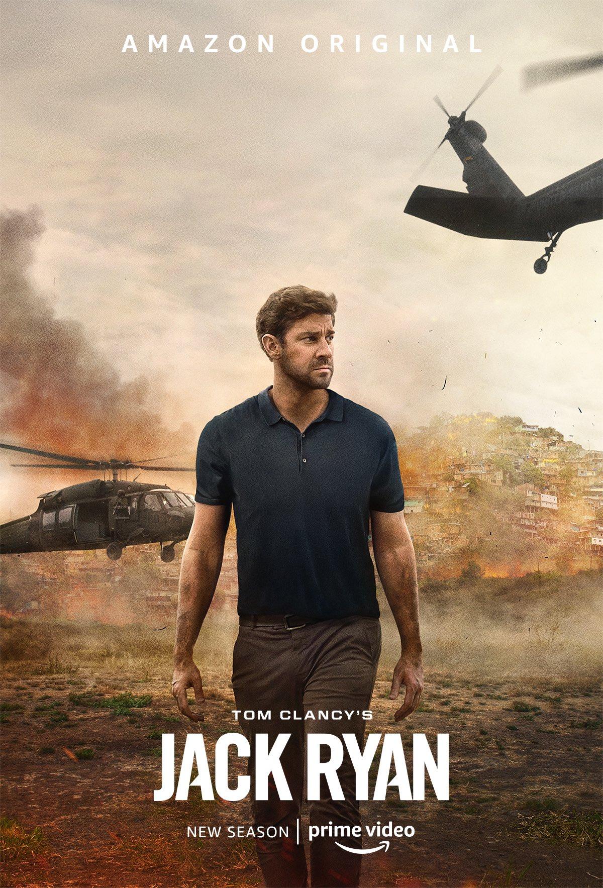 Jack Ryan S02 (2019) Hindi Dual Audio Complete 480p HDRip 1.1GB