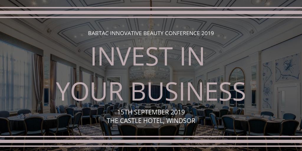 As well as seminars from industry experts, our conference will feature an expo area from our sponsors and BABTAC supported associations such as... @EllisonsHairandBeauty , @dermalogicaukofficial, @premiersoftware @_IsoClean @waxtriplex, @made4life, @Skcin and more.