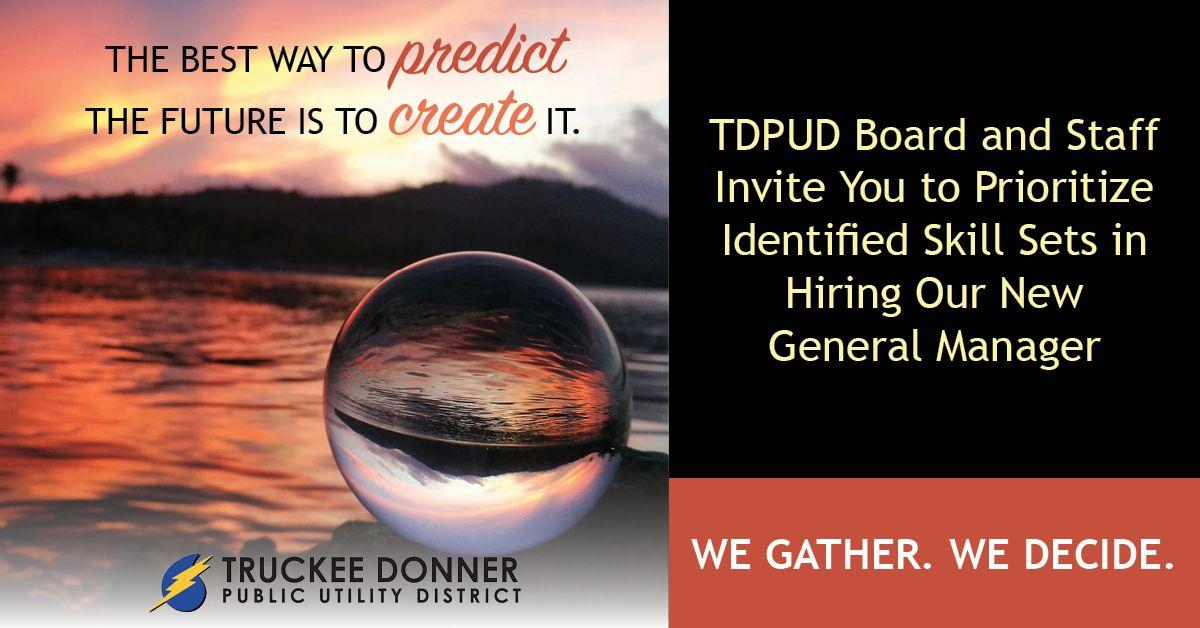 Truckee Donner PUD (@tdpud) | Twitter