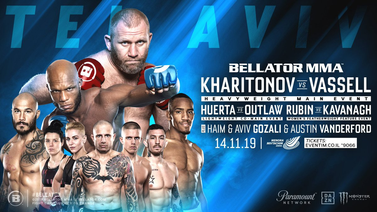 🚨🚨 FIGHT NEWS!!! 🚨🚨  We are headed back to Tel Aviv and we're bringing a stacked card with us. Who are you most excited to see at #Bellator234?