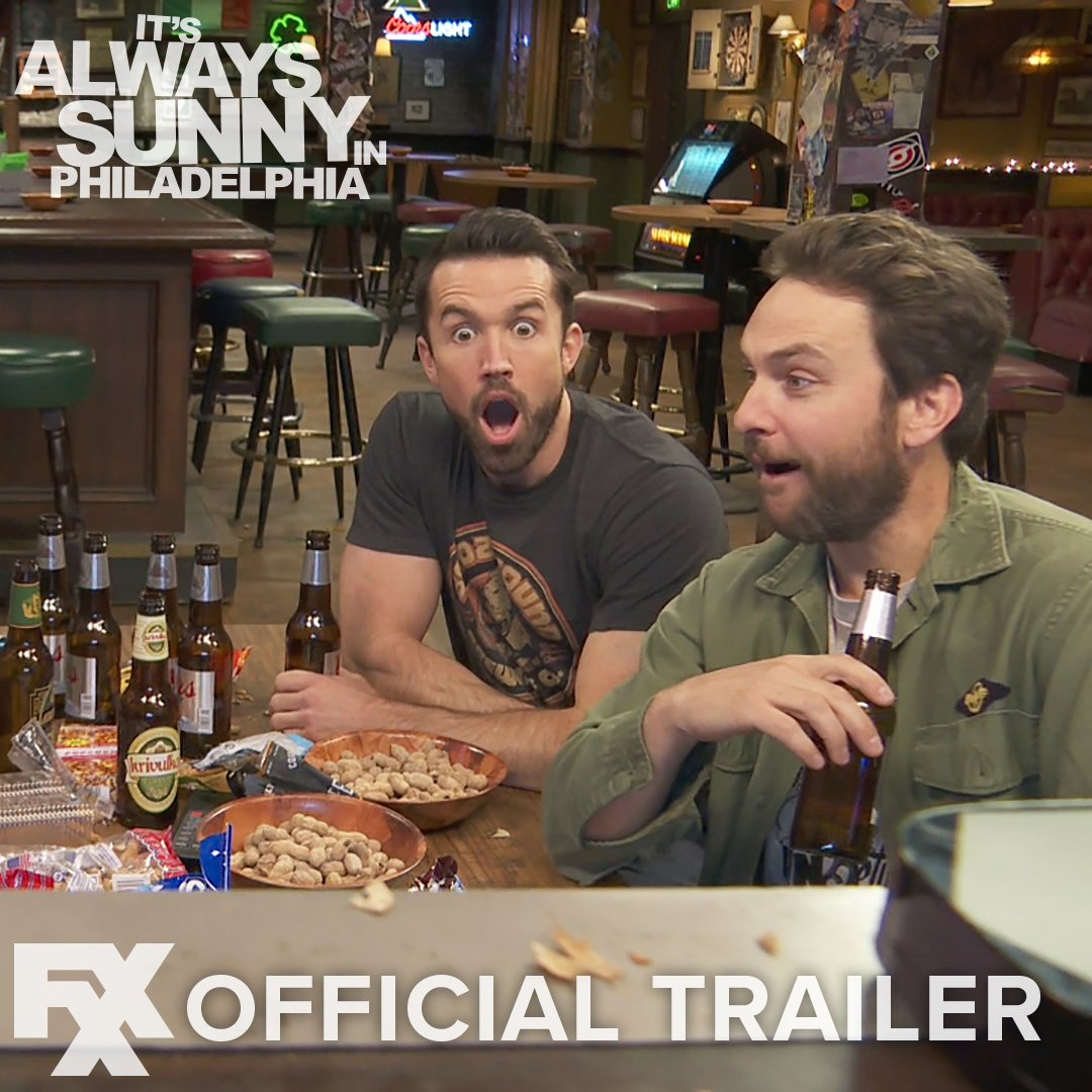 Summer's nearly over, but it's just starting to get Sunny. Watch the OFFICIAL TRAILER for the all-new season premiering 9/25 on FXX. #SunnyFXX