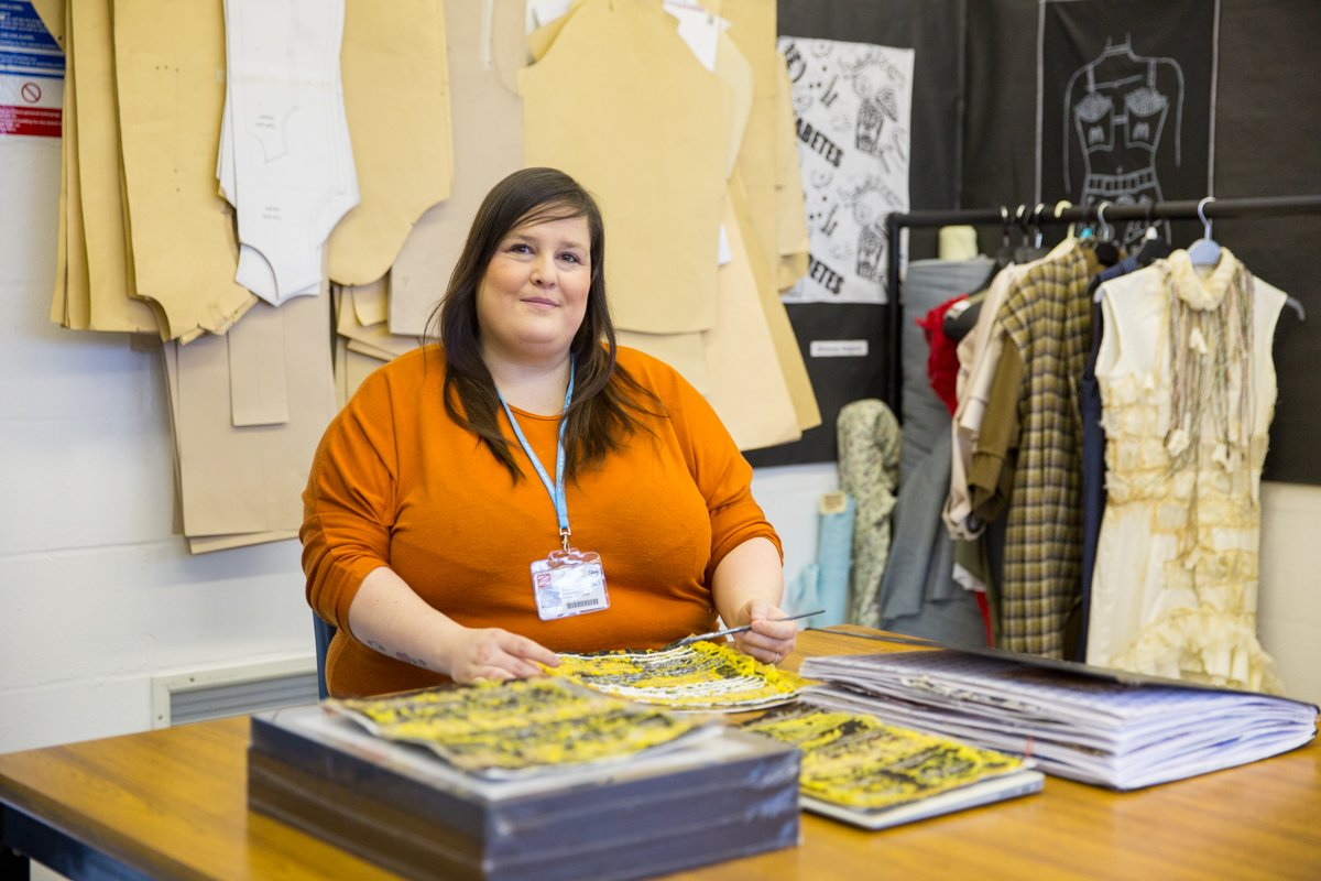Coleg Gwent On Twitter Hnd Fashion And Textiles Learner Gemma Wilcox Set Up Her Own Business Making Children S Clothes After Returning To College As A Mature Student The 36 Year Old Mum Said