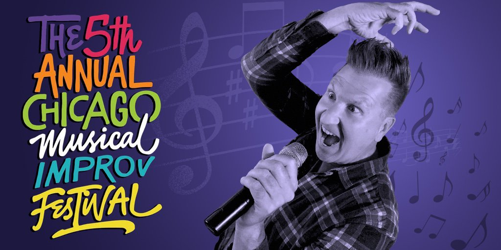 The madness is about to get loose on the mic! If you're in Chicago, come join me and other fine musical improvisers from across the nation at the 5th Annual Chicago Musical Improv Festival this weekend at iO! #CHIMIF2019 https://t.co/N9UxscnLzz https://t.co/7GfashB0bP