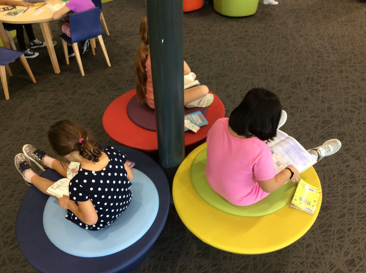 Fleet readers are checking out and reading on all the fun library seating! <a target='_blank' href='http://twitter.com/Principal_Fleet'>@Principal_Fleet</a> <a target='_blank' href='http://twitter.com/Fleet_ES'>@Fleet_ES</a> <a target='_blank' href='http://twitter.com/Fleet_AP'>@Fleet_AP</a> <a target='_blank' href='http://twitter.com/APSLibrarians'>@APSLibrarians</a> <a target='_blank' href='https://t.co/n9WmVIEgPn'>https://t.co/n9WmVIEgPn</a>