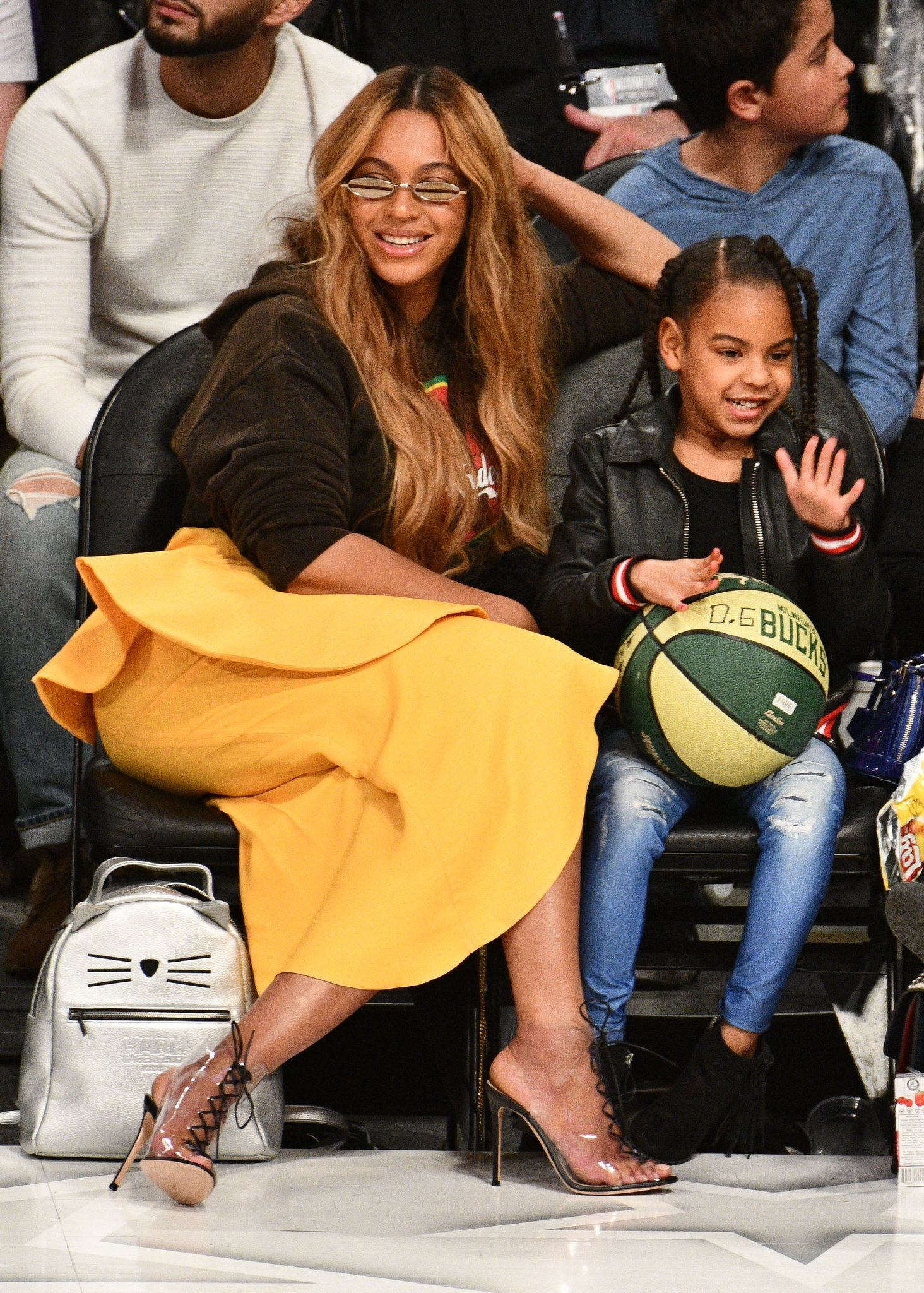 Happy Birthday to the queen of courtside,
