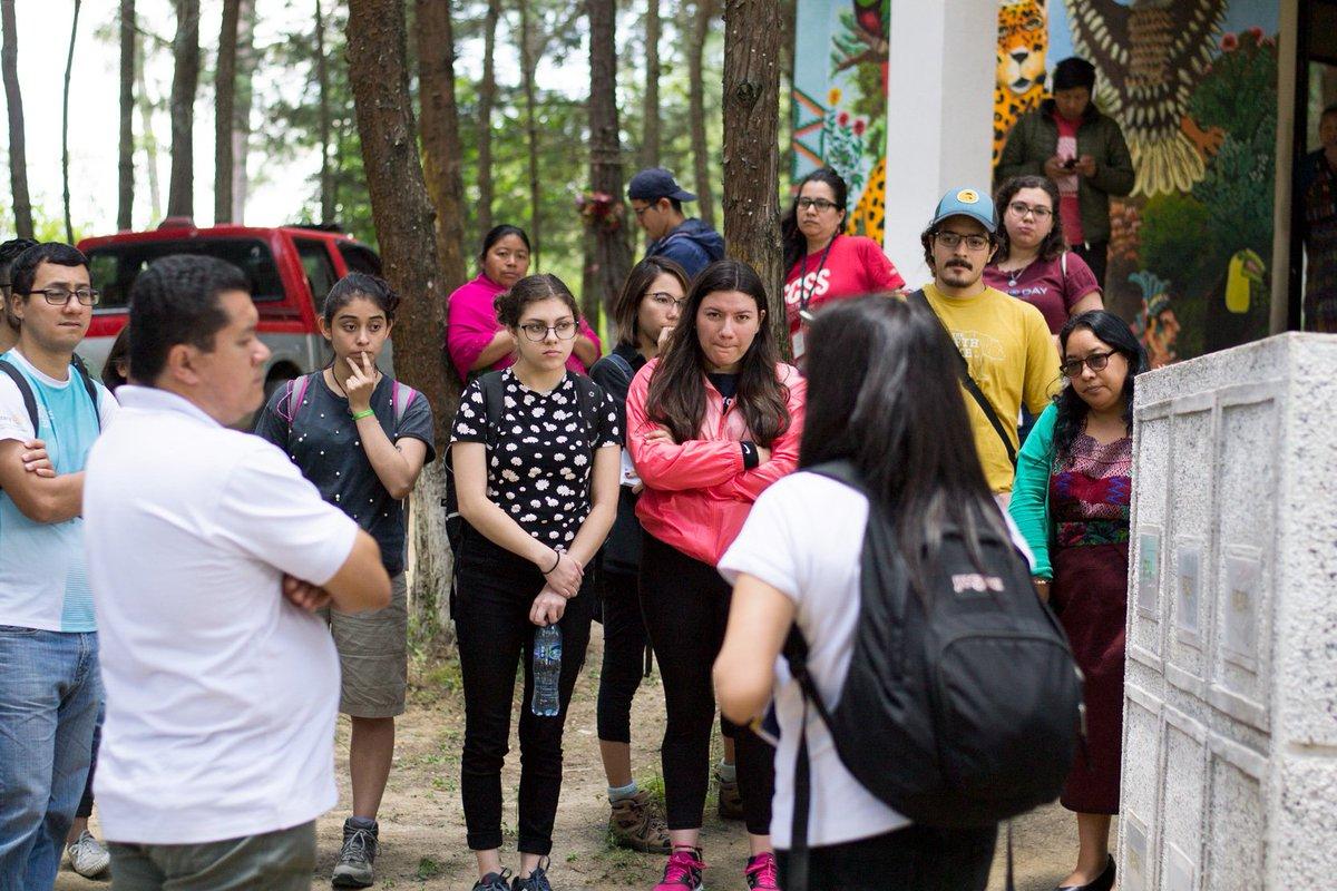 Estudiantes de guatemala runidos