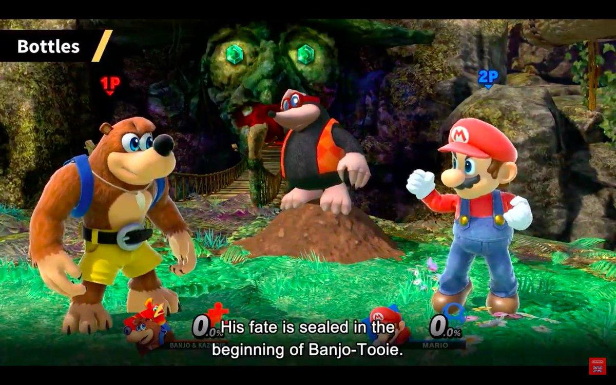 A closer look at Banjo-Kazooie in Super Smash Bros  ahead of