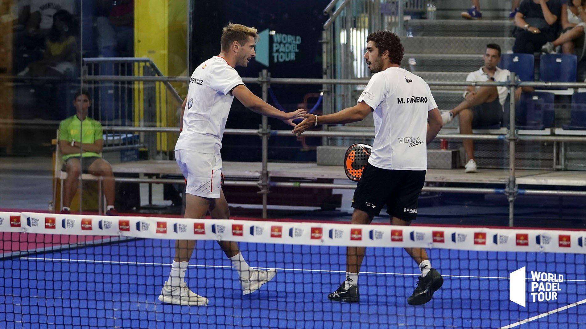 Martín Sánchez Piñeiro y Ale Ruiz debutaron con victoria en el Madrid Master
