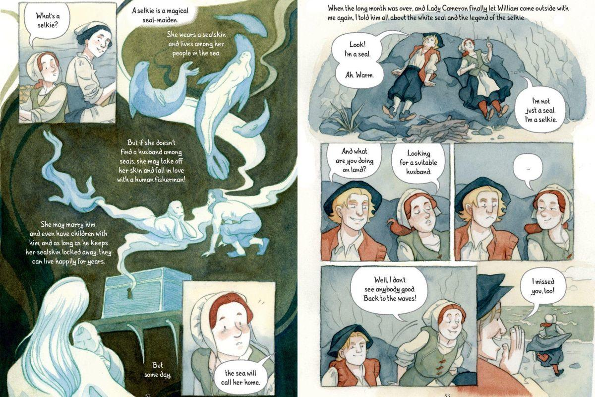 "test Twitter Media - When it comes to inspiration for her graphic novel ""Queen of the Sea,"" @dmeconis '05 can draw plenty from her own childhood: https://t.co/SuO6Ov27E3 https://t.co/EcSQ1BAgth"