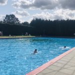 Image for the Tweet beginning: Thanks to @ParkRoadLido for a